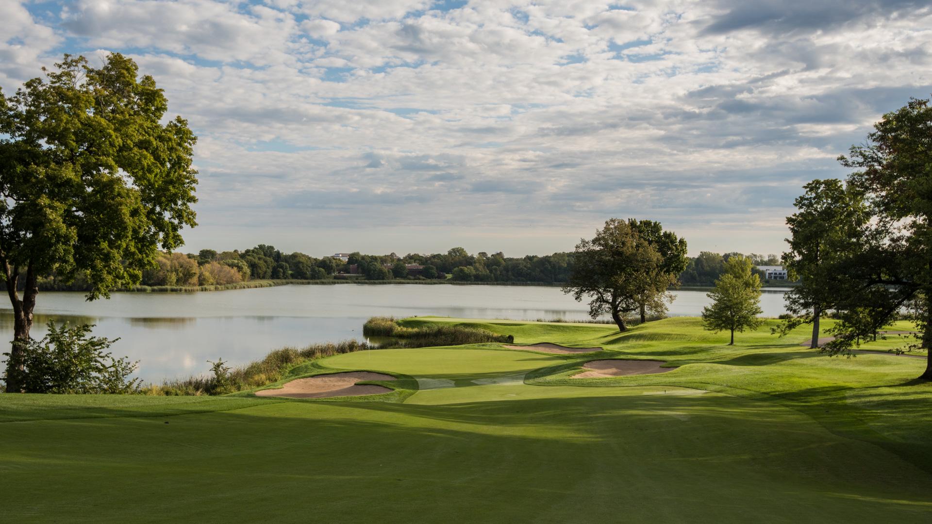 Golf i USA, här Hazeltine National Golf Club i Minnesota.